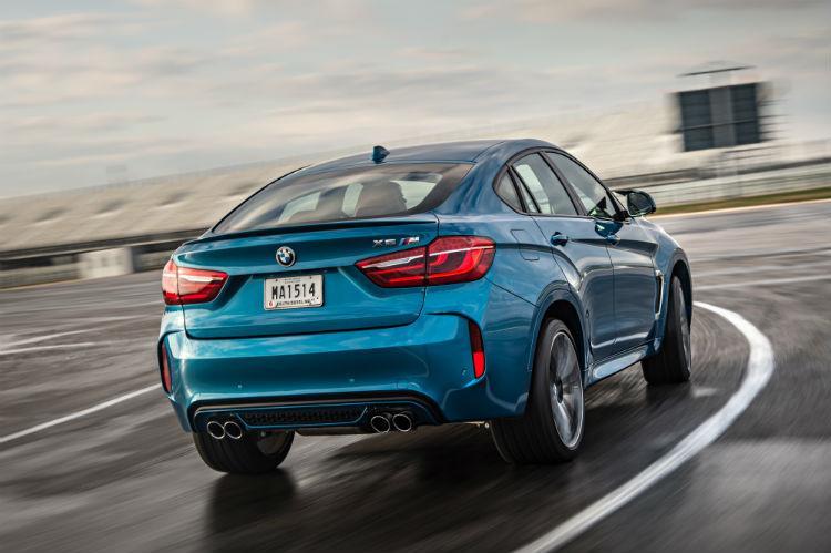Обновленный BMW X6M