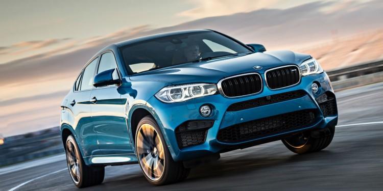 Новый BMW X6M