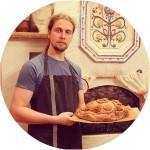Максим Едлин, пекарь-технолог, собиратель старорусских рецептов, организатор международного ремесленного проекта «Артель Ремесел»
