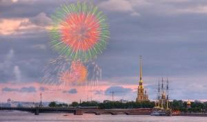 Салют в Петербурге