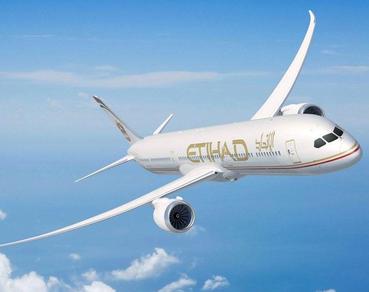 Etihad Airways и их обновленный маршрут