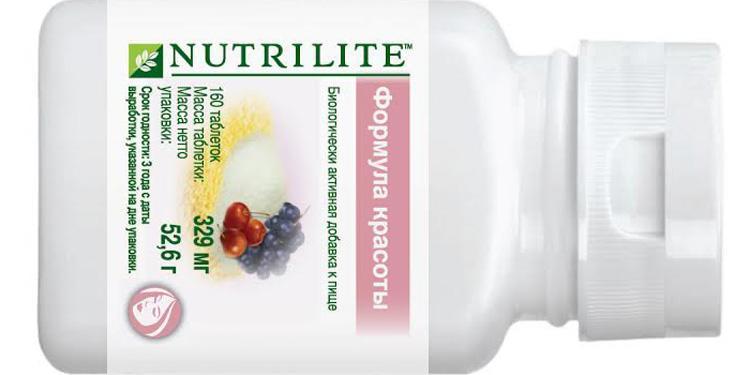 NUTRILITE - формула красоты