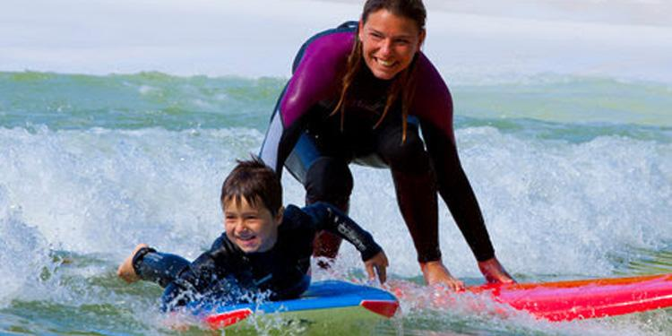 Уэльс серфинг