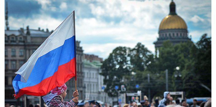День Государственного флага РФ в Петербурге