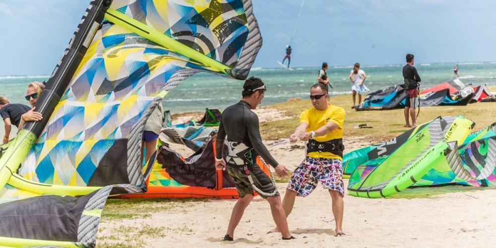 фестиваль Mauritius Kite Jam