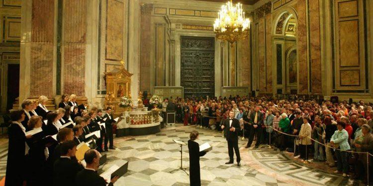 Концерт, посвященный 73-й годовщине снятия блокады