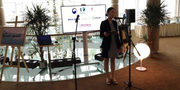 Торжественное открытие выставки южнокорейских художников в отеле «Амбассадор»