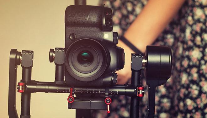 кофе и кинокамера