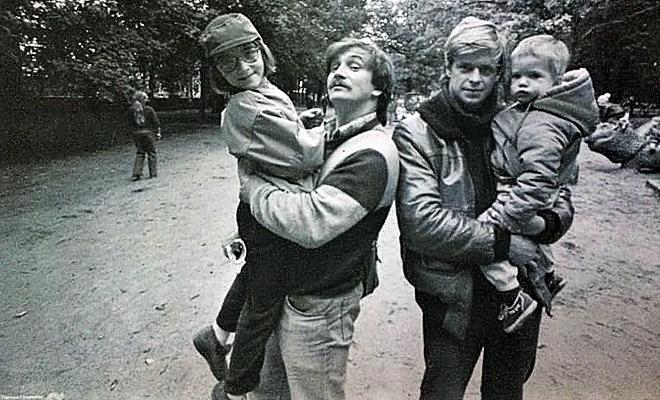 Фото из архива художника Тихомирова
