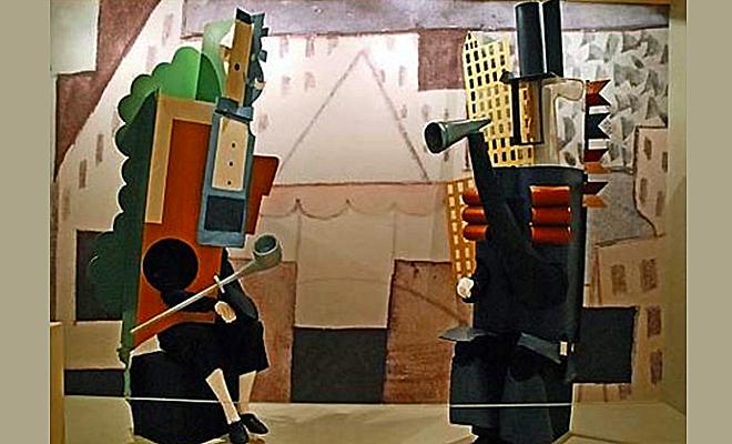 Балетные костюмы работы Пикассо