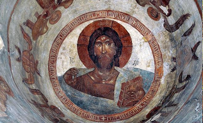 фрески Феофана Грека. Новгород