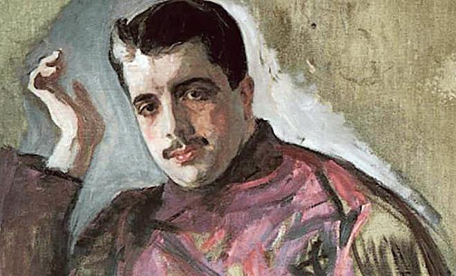 Портрет Дягилева кисти Серова