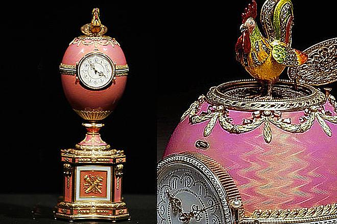 Яйцо из коллекции Ротшильдов вернулось в Эрмитаж