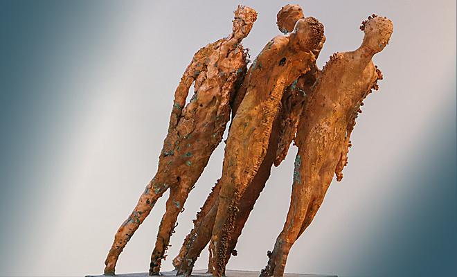 Вот что творит с людьми современное искусство и гальванопластика