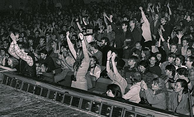 Рок-концерт как глоток свободы