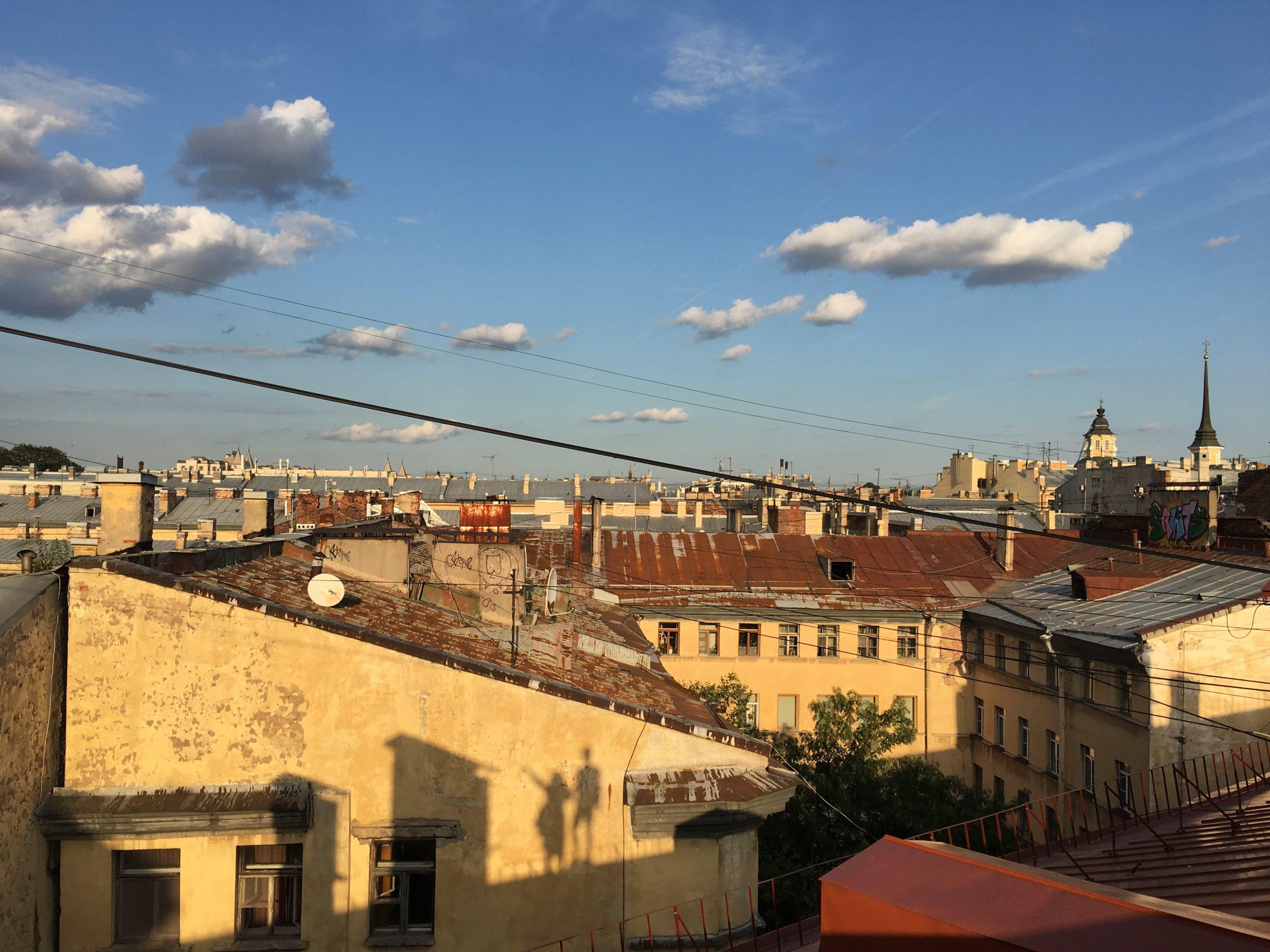 Как погулять по крышам