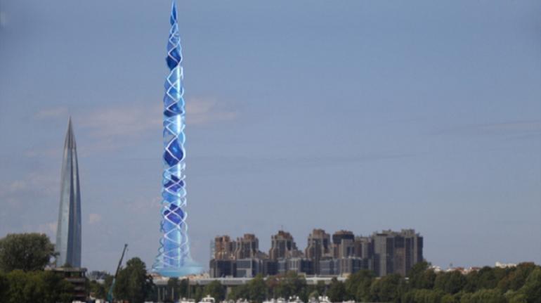 Архитектура Санкт-Петерьурга Лахта центр2