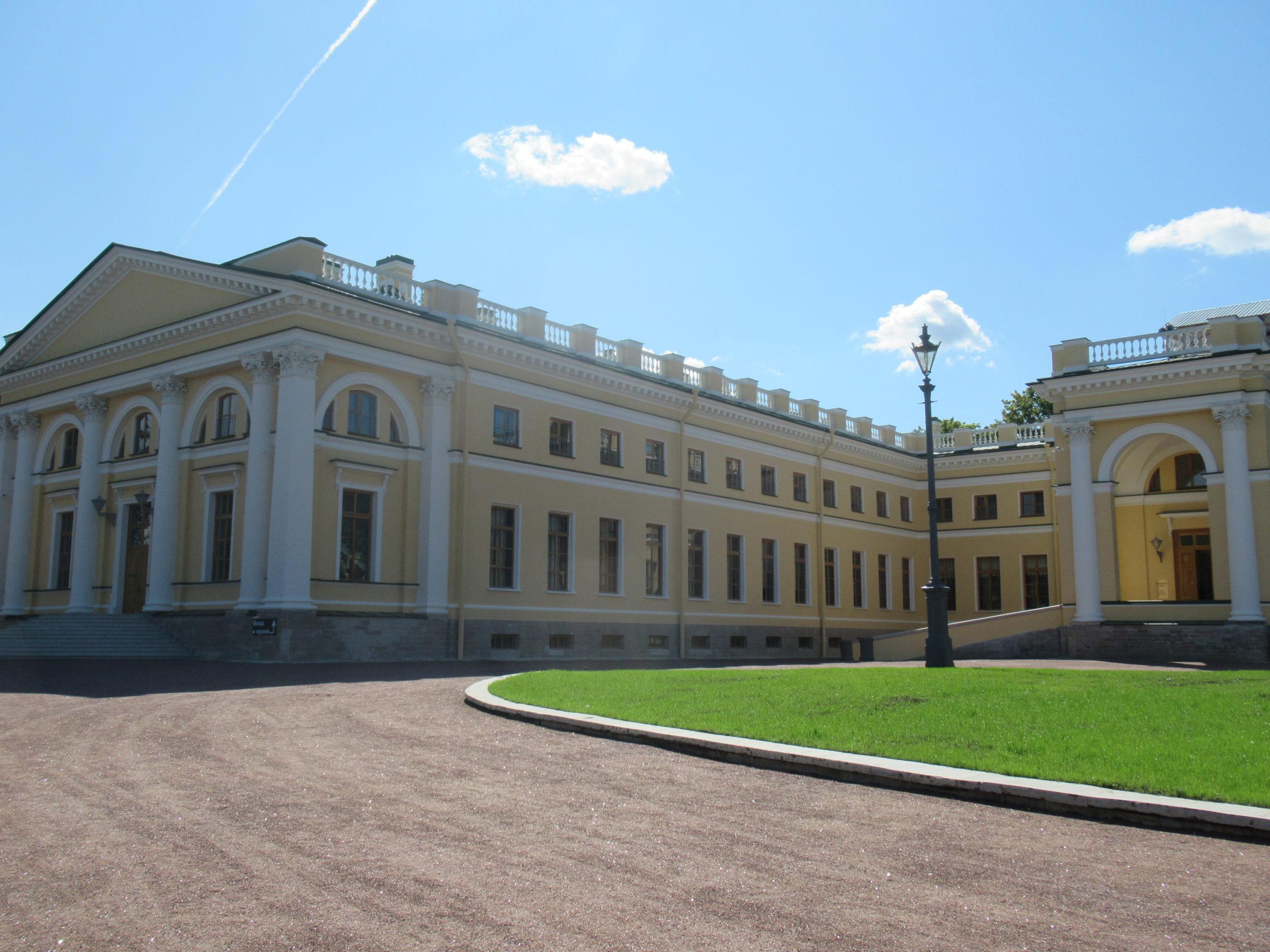 Алексадровский дворец. Царское Село.