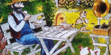 Миндальные ежики для пикника с мюклями